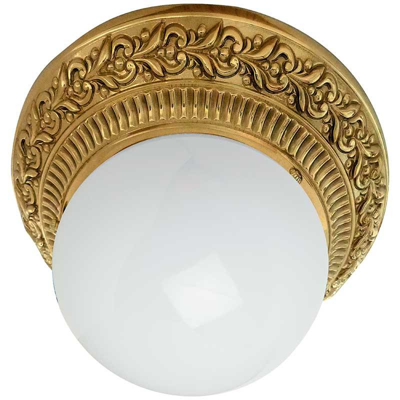 Fede FD1013SOB Накладной точечный светильник из латуни с матовым плафоном, блестящее золото roys 3d fd 1013