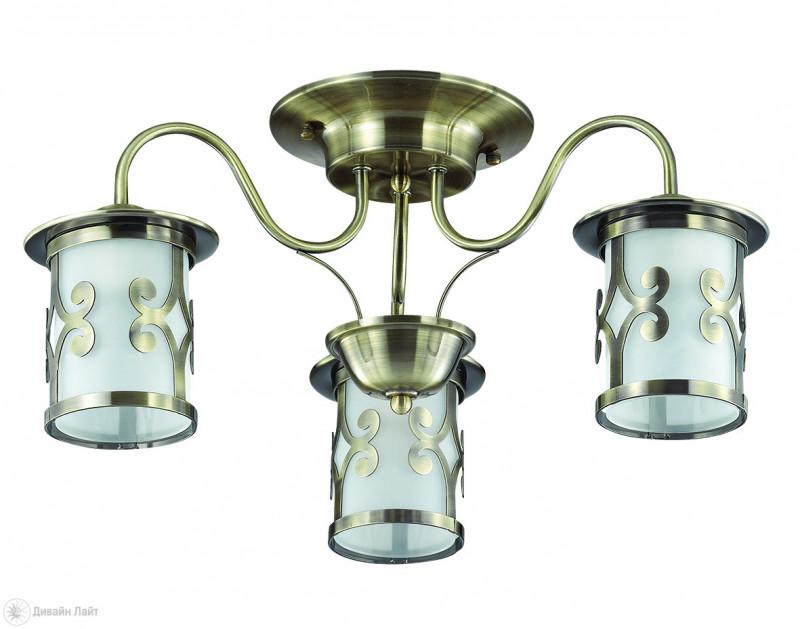 LUMION 3118/3C LN16 000 бронзовый/стекло/метал. декор Люстра потолочная E27 3*40W 220V SEKVANA wenger sport 3118 408