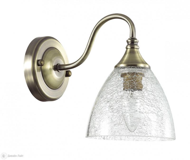 Фото LUMION 3132/1W LN16 000 бронзовый/стекло/хрусталь Бра E14 40W 220V VIVINA. Купить с доставкой