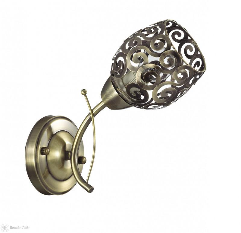 LUMION 3264/1W LN16 000 бронзовый/металл Бра E14 1*60W 220V BERENIS