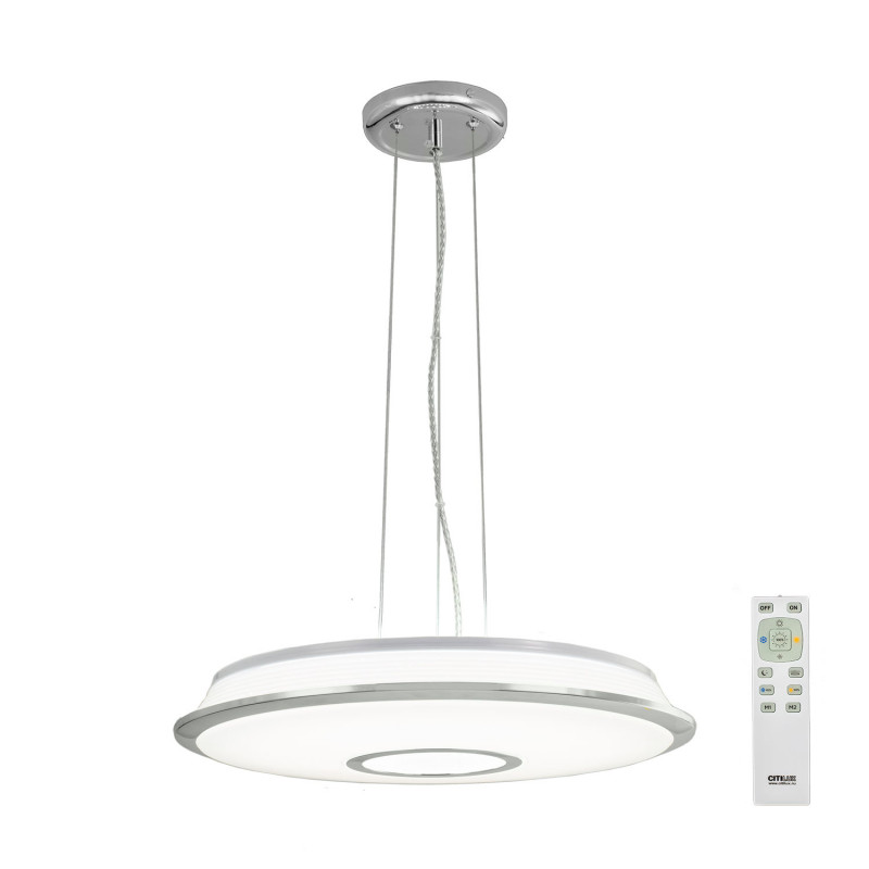 Citilux CL70360RS СтарЛайт Хром LED Св-к Подв. с пультом