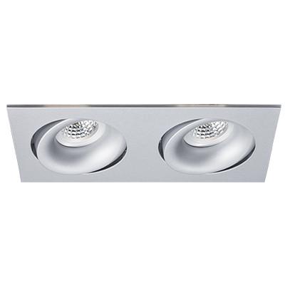 ITALLINE DE 202 alu grey встраиваемый светильник de 201 alu grey italline
