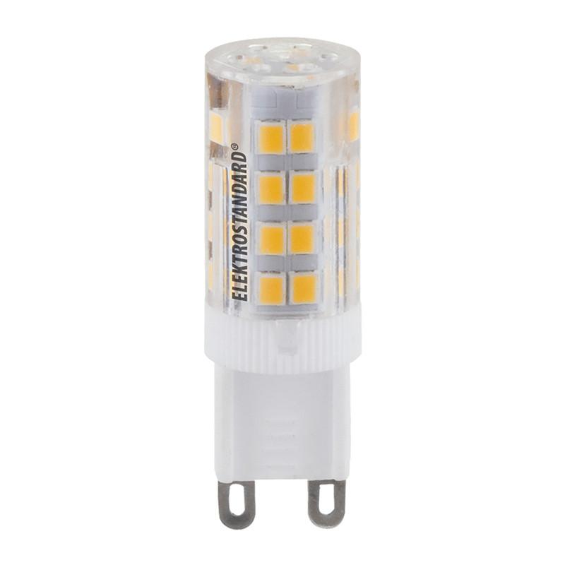 Elektrostandard G9 LED 5W 220V 3300K elektrostandard лампочка elektrostandard led c37 cd 6w 3300k e14