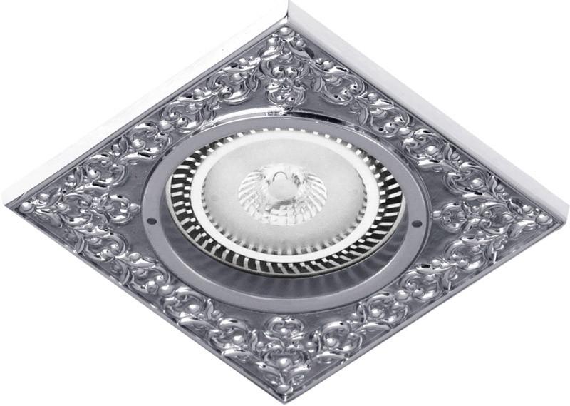 Fede FD1026CCB Квадратный точечный светильник из латуни, bright chrome fede fd1026ccb квадратный точечный светильник из латуни bright chrome