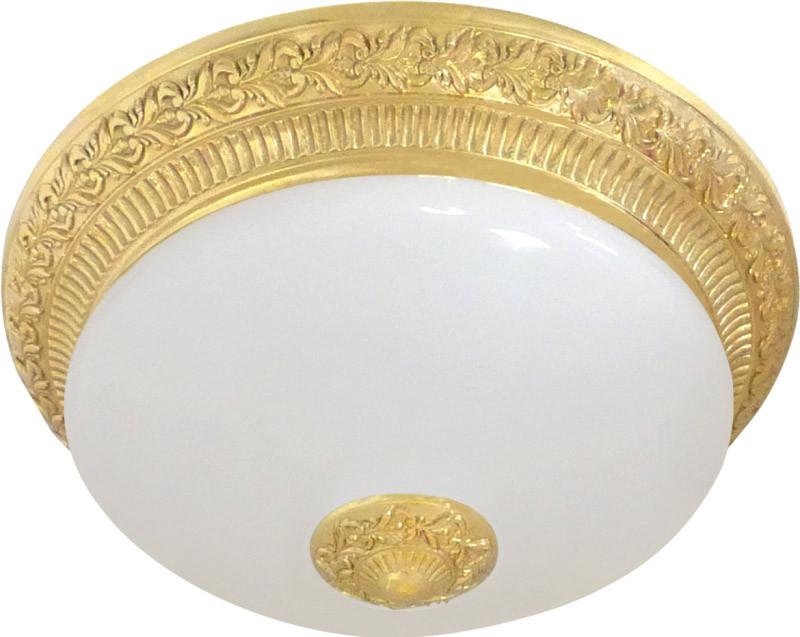 Fede FD1060SOB Накладной светильник BILBAO II DECO из латуни с матовым плафоном (на 2 лампы), бл.золото автокресло pituso bilbao серо синий lb311