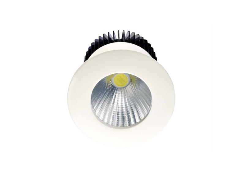 Donolux Donolux Светодиодный светильник, встраиваемый, диммируемый АС85-265В  5W, 3000K, 400 LM, 30°. Цвет-б kyper 265 70 r16 в сп б