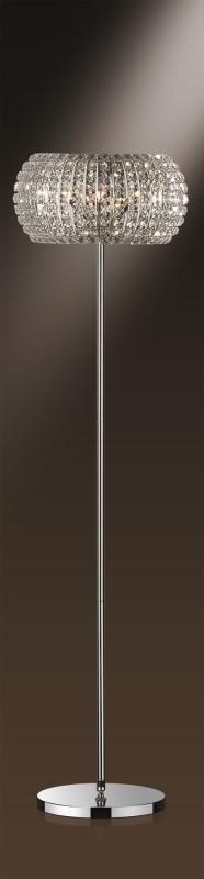 Odeon Light 1606/6F ODL11 651 хром Торшер  G9 6*40W 220V CRISTA торшер odeon 1606 6f