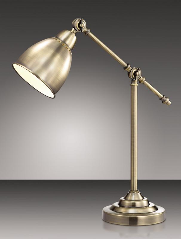 Фото Odeon Light 2412/1T ODL13 905 бронзовый Н/лампа  E27 60W 220V CRUZ. Купить с доставкой