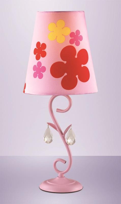 Odeon Light 2441/1T ODL13 745 розовый Н/лампа  E27 60W 220V TRELI