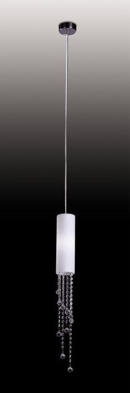 Odeon Light 2571/1 ODL13 549 хром/стекло/хрусталь Подвес  G9 40W 220V NOTTS odeon light notts 2571 6