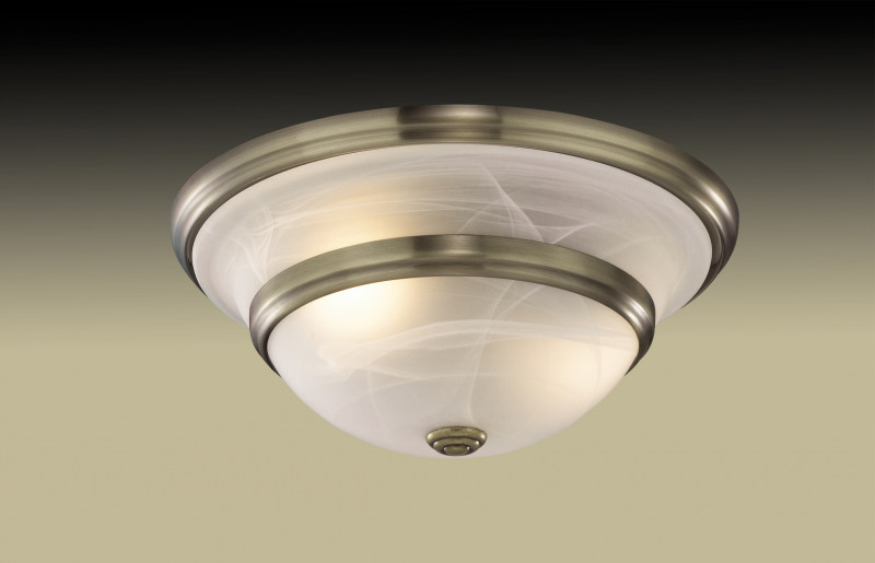 Odeon Light 2573/2A ODL13 205 бронзовый Потолочный светильник  E27 2*60W 220V MARLI светильник на штанге odeon light teatro 2573 5c