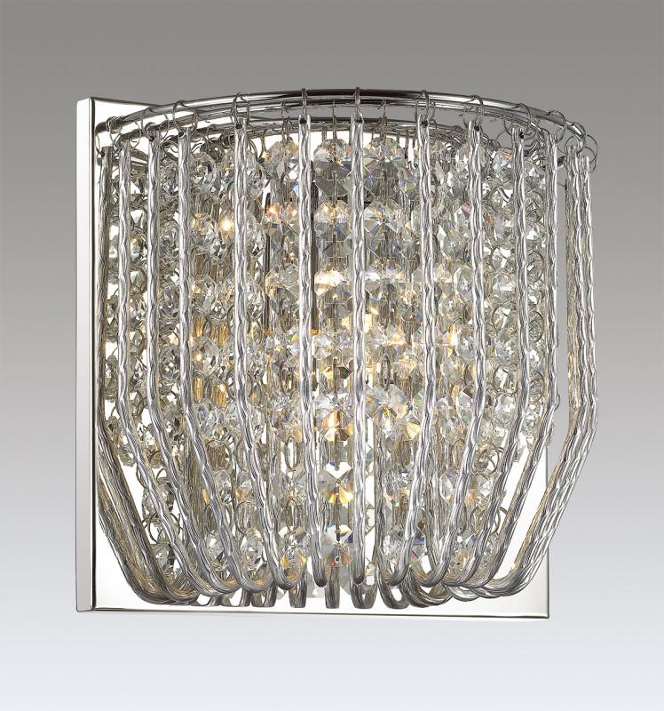 Odeon Light 3478/1W ODL17 000 хром/декор хрусталь Бра G9 42W 220V ELOI подвесной светильник odeon light eloi 3478 5