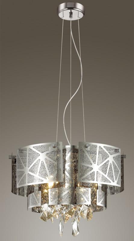 Odeon Light 3479/5 ODL17 000 хром/декор хрусталь Люстра G9 5*42W 220V HILARY потолочный светильник odeon light hilary 3479 5c