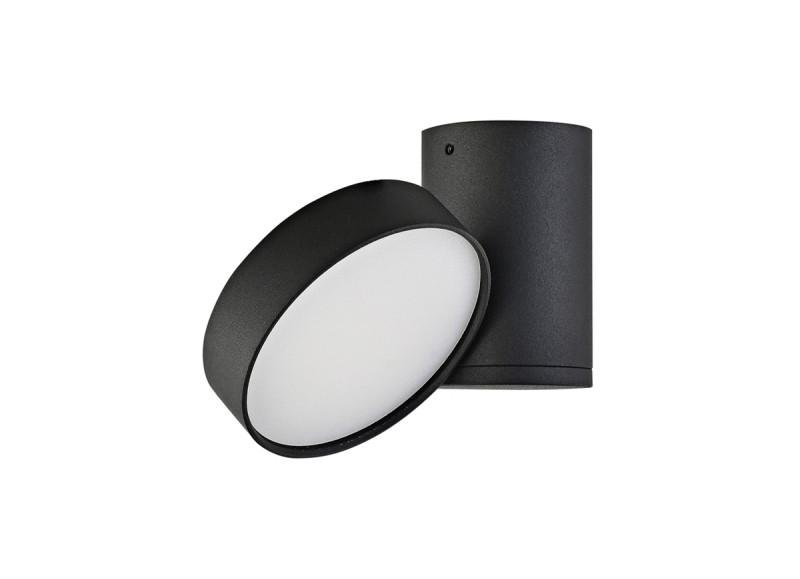 Donolux Donolux Светильник светодиодный накладной, 9Вт, 3000К, 720Лм, Ra>80, IP20, 120°, AC 220-240В, L131xH видеокамера ip activecam ac d2121wdir3 1 9 мм белый