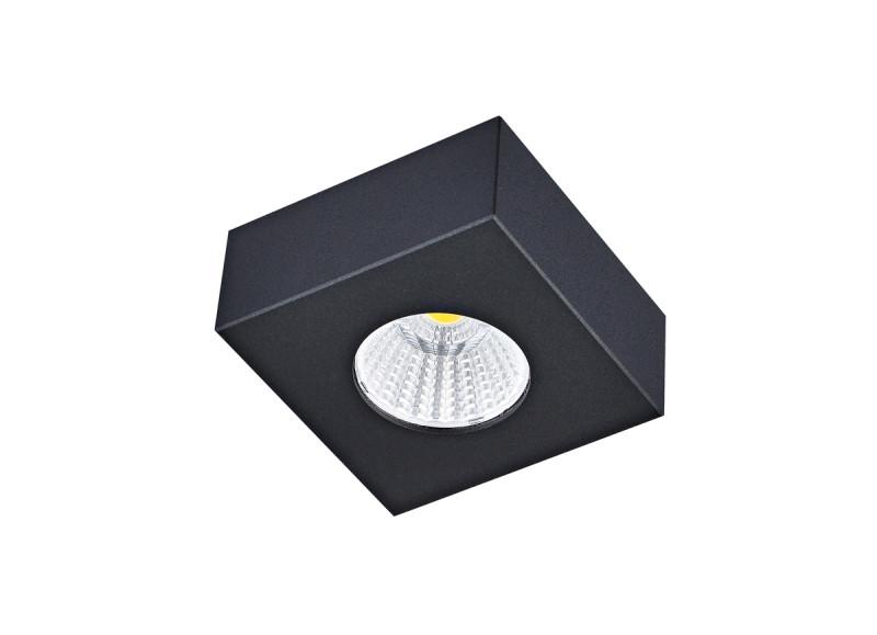 Donolux Donolux Светильник светодиодный накладной, 7Вт, 3000К, 420Лм, Ra>80, IP44, 60°, AC 220-240В, H33xL80 пепельница с подсветкой auto h k gt 68111