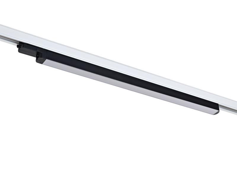 цена на Donolux Donolux Светодиодный трековый светильник. АС 100-240В 20W, 3000K, 1500 LM, Черный, IP20, L699xH60 мм