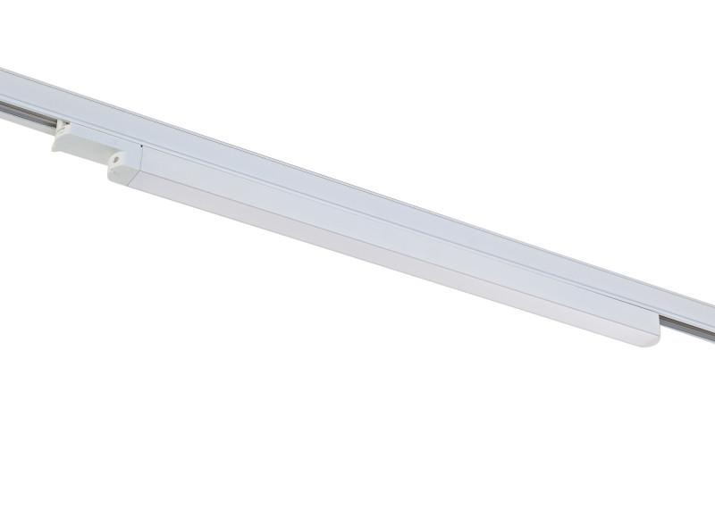 цена на Donolux Donolux Светодиодный трековый светильник. АС 100-240В 20W, 3000K, 1500 LM, Белый, IP20, L699xH60 мм,