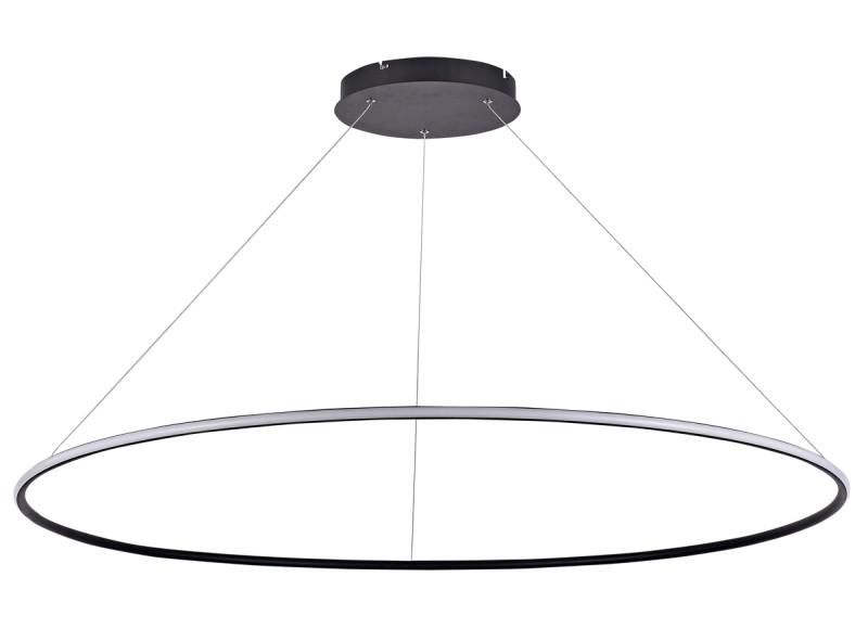 Donolux Donolux Светодиодный светильник подвесной. АС85-265В  70W, 3000K, 2030 LM, Черный, 105°, IP20, D1200 kyper 265 70 r16 в сп б
