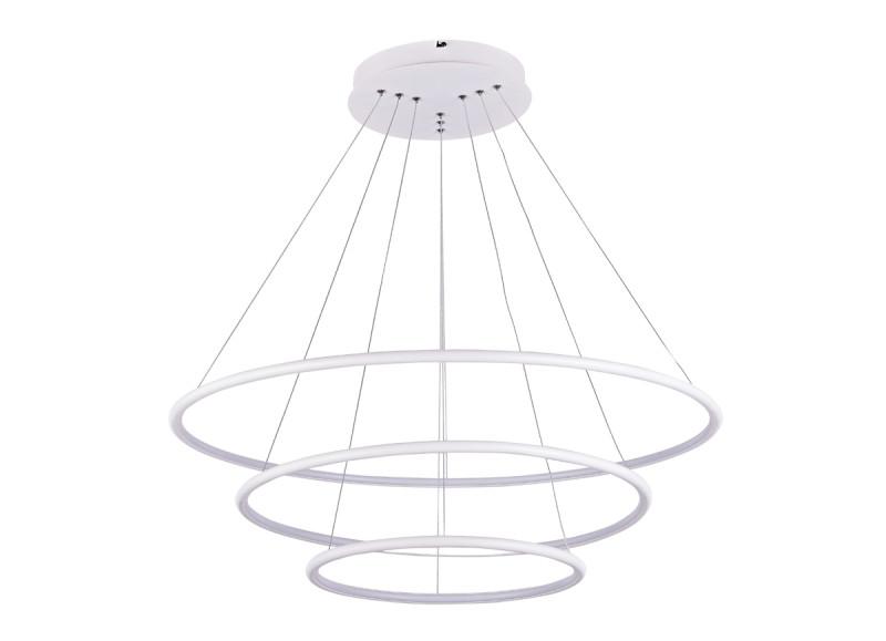 Фото Donolux Donolux Светодиодный светильник подвесной. АС85-265В  110W, 3000K, 3190 LM, Белый, 105°, IP20, D800+. Купить с доставкой