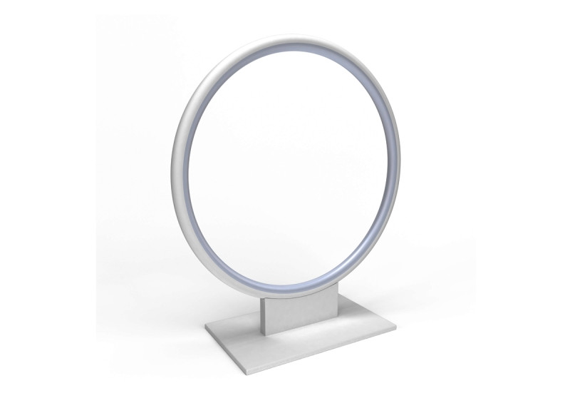 Фото Donolux Donolux Светодиодная настольная лампа. АС85-265В  19W, 3000K, 550 LM, Белый, 105°, IP20, W300xH320 м. Купить с доставкой