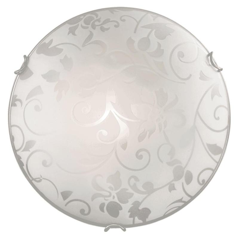 Sonex 108/K SN16 052 белый/бронзовый Н/п светильник E27 2*60W 220V VUALE sonex потолочный светильник sonex vuale 108 k