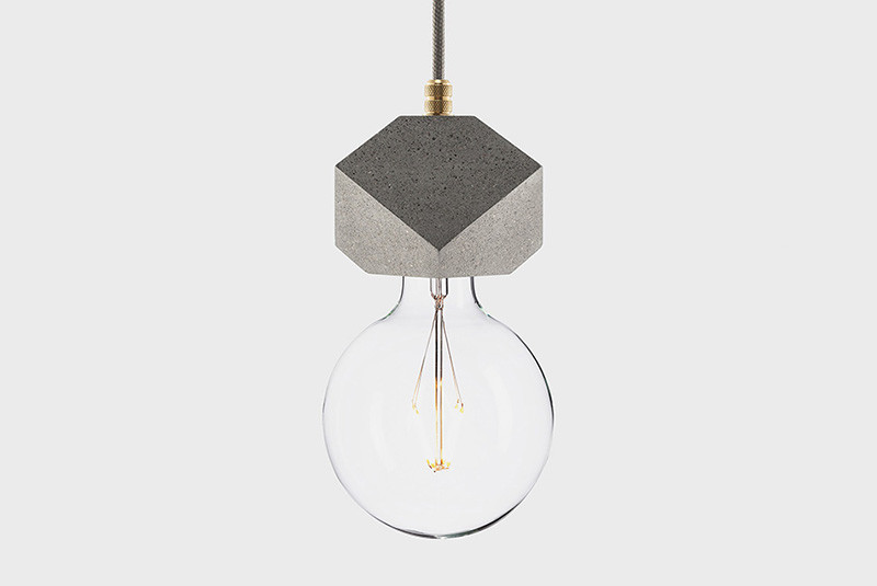 Latitude Подвесной светильник, LATITUDE Beton Makt grey/brass latitude подвесной светильник latitude beton bolti grey aluminum