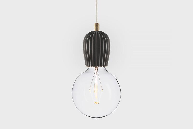 Latitude Подвесной светильник, LATITUDE Beton Rib black/brass paulmann henja pendell max1x20w e27 gr ei g beton
