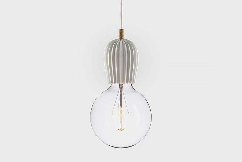 Latitude Подвесной светильник, LATITUDE Beton Rib white/brass paulmann henja pendell max1x20w e27 gr ei g beton