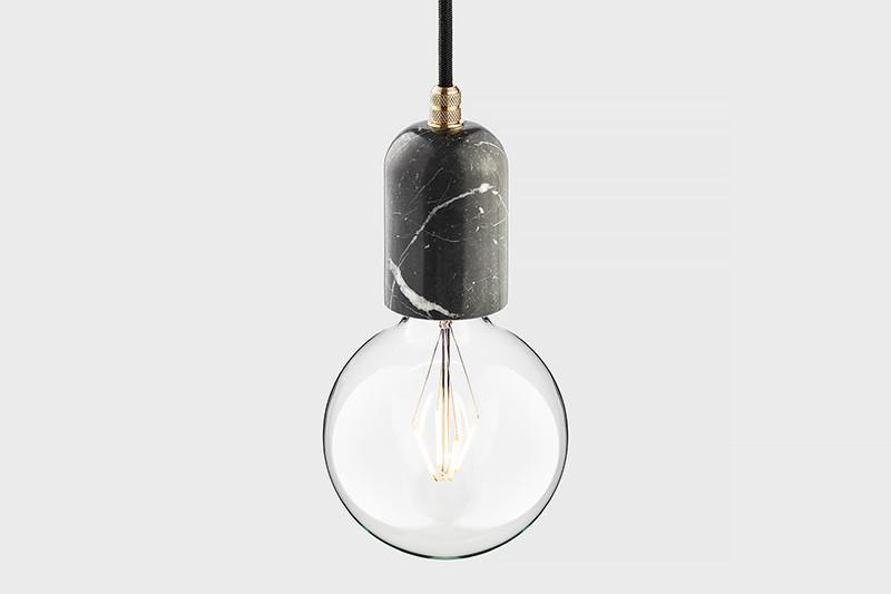 Latitude Подвесной светильник, LATITUDE Marmor Bjort Nero/brass latitude подвесной светильник latitude beton bolti grey aluminum