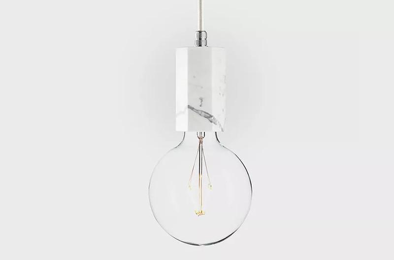 Latitude Подвесной светильник, LATITUDE Marmor Trom, bianco/aluminum latitude подвесной светильник latitude beton bolti grey aluminum