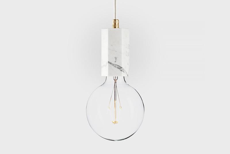 Latitude Подвесной светильник, LATITUDE Marmor Trom, bianco/brass paulmann ando stehl max1x20w sw ku stoff marmor