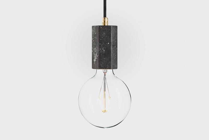 Latitude Подвесной светильник, LATITUDE Marmor Trom nero/brass paulmann ando stehl max1x20w sw ku stoff marmor