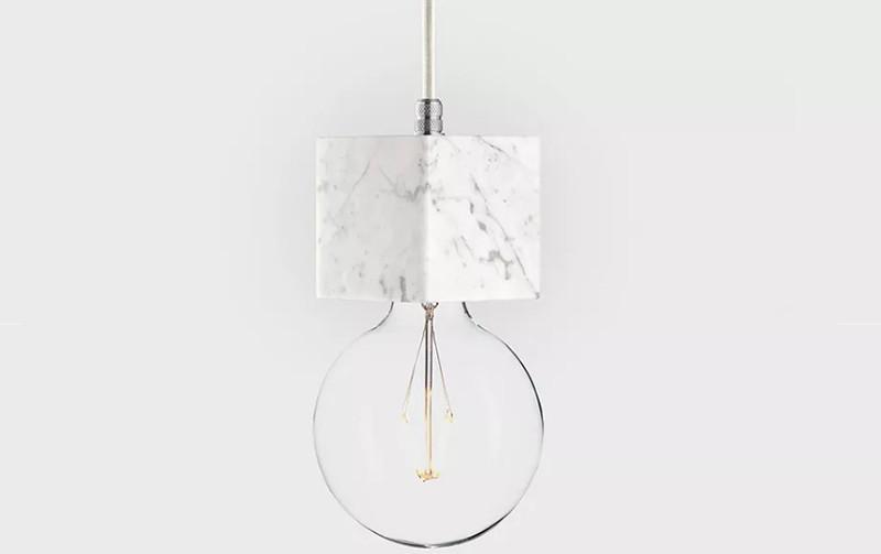 Latitude Подвесной светильник, LATITUDE Marmor Veldi bianco/aluminum paulmann ando stehl max1x20w sw ku stoff marmor