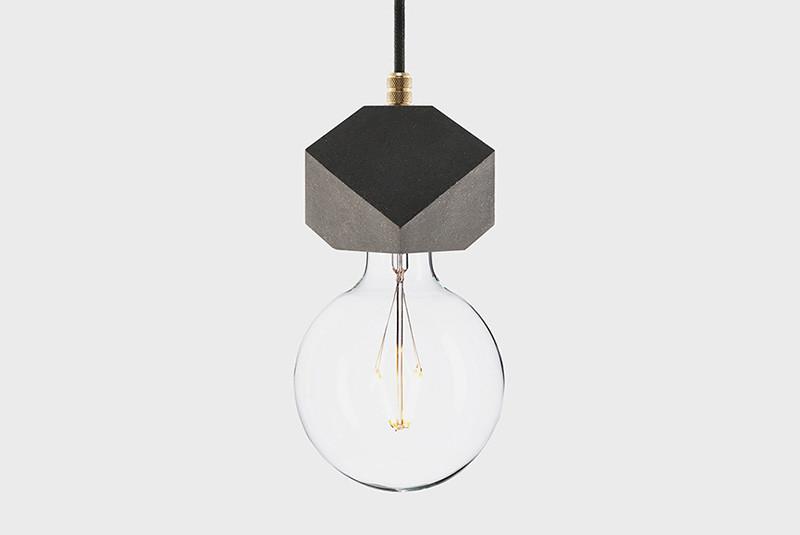 Latitude Подвесной светильник, LATITUDE Beton Makt black/brass paulmann henja pendell max1x20w e27 gr ei g beton