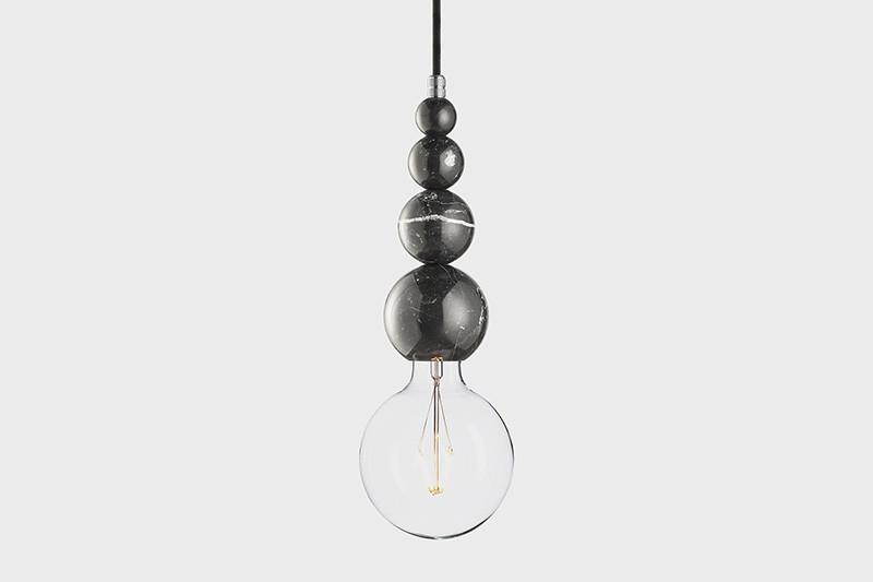 Latitude Подвесной светильник, LATITUDE Marmor Slipp nero/aluminum latitude подвесной светильник latitude beton bolti grey aluminum