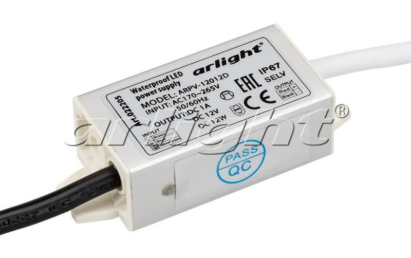 Arlight Блок питания ARPV-12012D (12V, 1A, 12W) polish 12012 p
