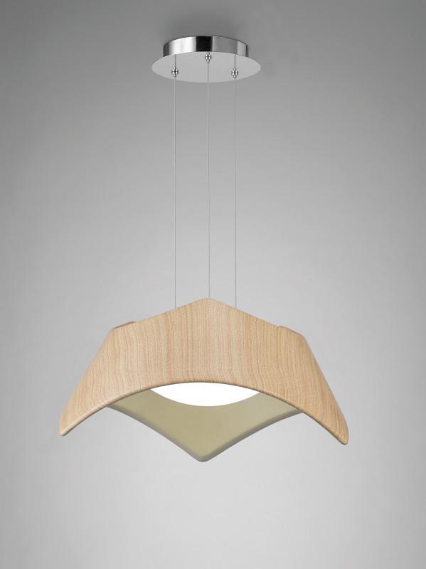 Mantra WOOD PENDANT 2L-E27 iwhd 3 heads iron hang lights led pendant light fixtures fashion wood modern pendant lamp kitchen bedroom e27 220v for decor