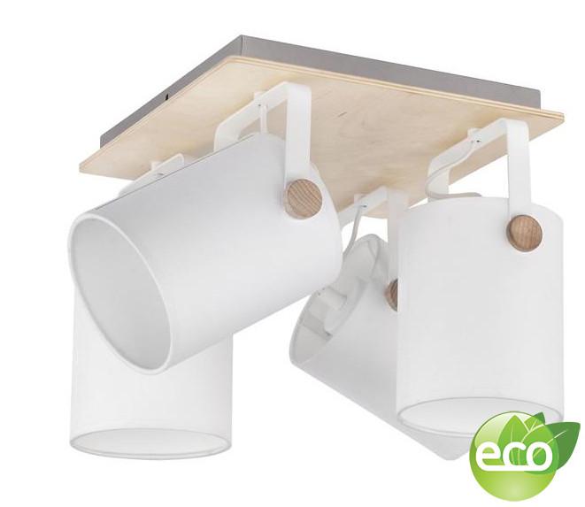 где купить TK Lighting Потолочный светильник с поворотными абажурами 1615 Relax White по лучшей цене