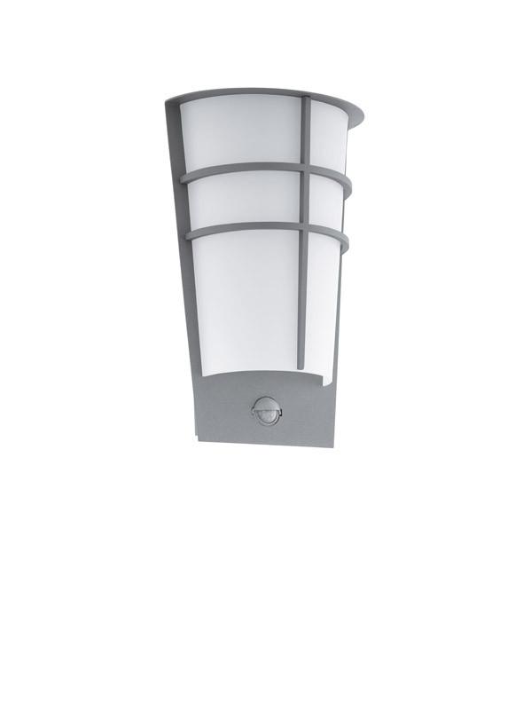 Фото EGLO Уличный светодиодный светильник настенный BREGANZO 1 с датчиком движения и фун-ей день/ночь, 2х2,5W. Купить с доставкой