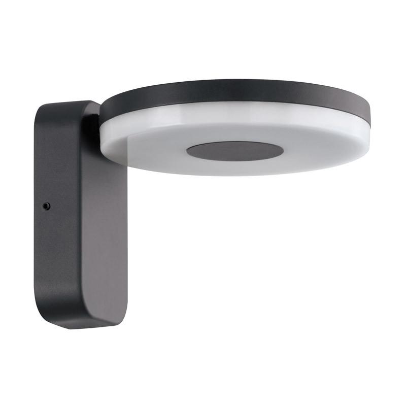EGLO Уличный светодиодный настенный светильник ALBEROLA, 11W(LED), IP44, H155, литой алюминий, антрацит / eglo уличный настенный светодиодный светильник eglo alberola 96289