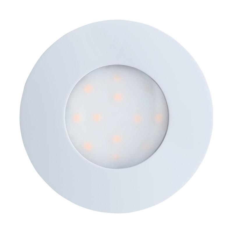EGLO Уличный светодиодный светильник встраиваемый PINEDA-IP, 1х6W (LED), ?78, пластик, белый