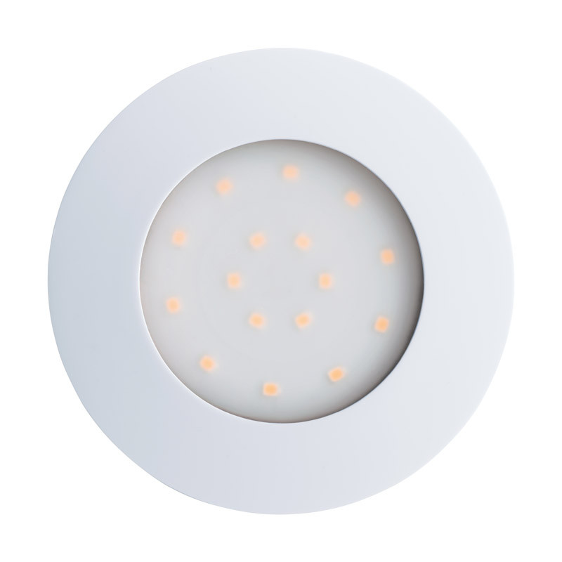 EGLO Уличный светодиодный светильник встраиваемый PINEDA-IP, 1х12W (LED), ?102, пластик, белый