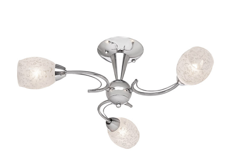 Silver Light Люстра потолочная Silver Light, серия Eseniya, цвет хром 3XЕ14X60W потолочная люстра silver light eseniya 127 54 8
