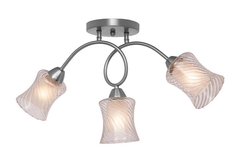 купить Silver Light Люстра потолочная Silver Light, cерия Evita, матовый хром 3XЕ14X60W недорого