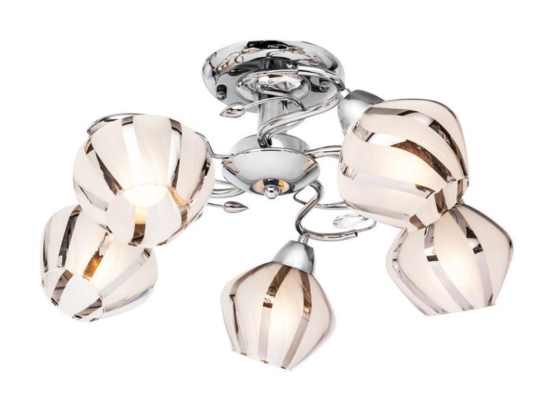 Silver Light Люстра подвесная Silver Light,хром 5XЕ14X60W люстра подвесная silver light greta 511 53 5