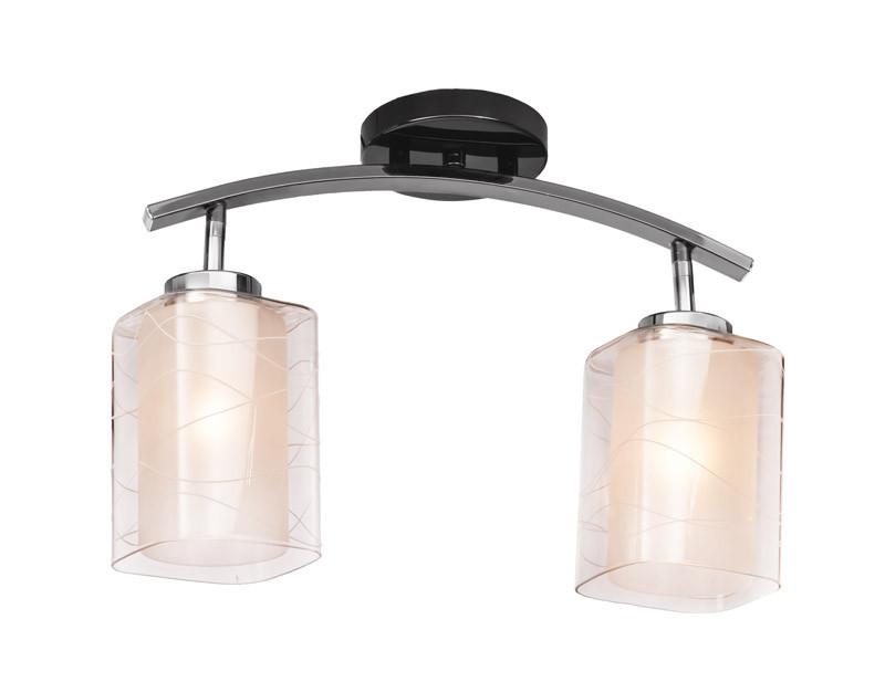 цена Silver Light Светильник настенно-потолочный Silver Light, серия Victoria, цвет хром, 2XЕ14X60W онлайн в 2017 году
