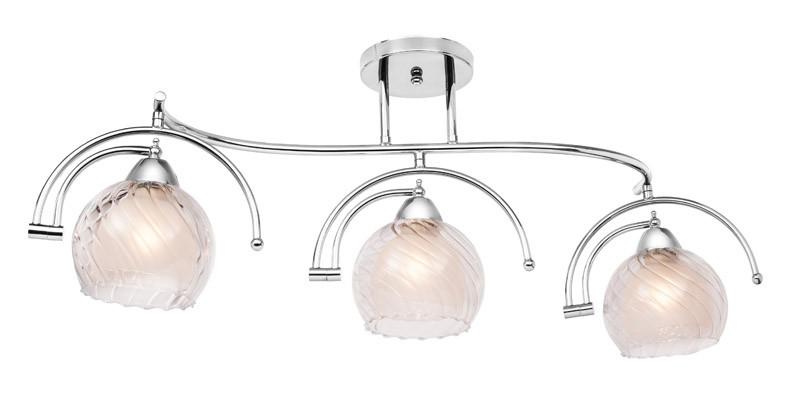 Silver Light Светильник настенно-потолочный Silver Light, серия Sfera, цвет хром, 3XЕ14X60W excellent sfera 170x100 l