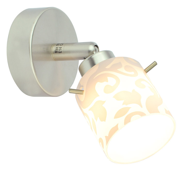 Silver Light Спот Orchid Silver Light, матовый хром, 1XG9X40W