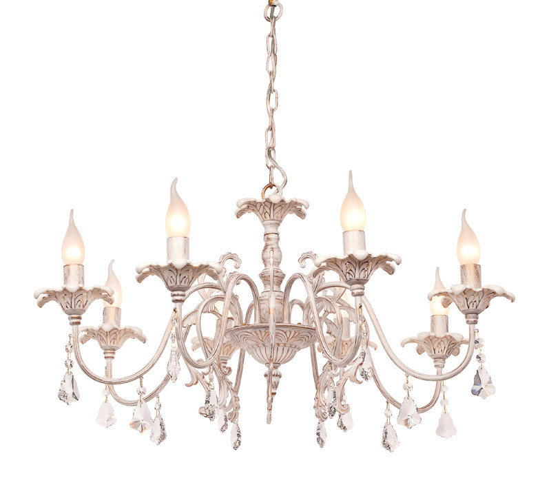 Silver Light Люстра подвесная Silver Light, cерия Strelitzia, цвет белая патина + золото 5XЕ14X60W люстра подвесная silver light greta 511 53 5