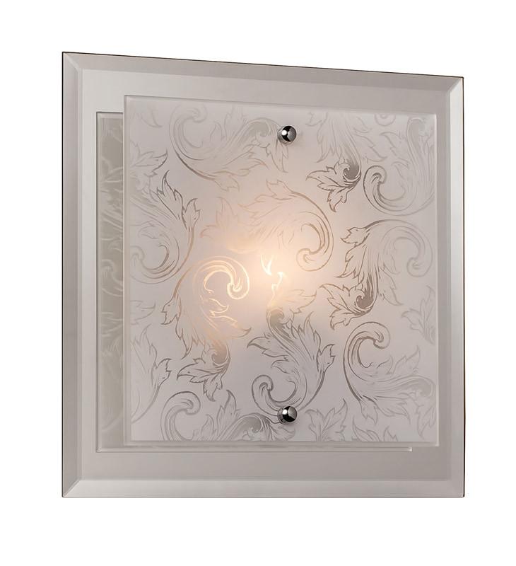Silver Light Светильник настенно-потолочный Silver Light, металл+стекло, 1XE14X60W